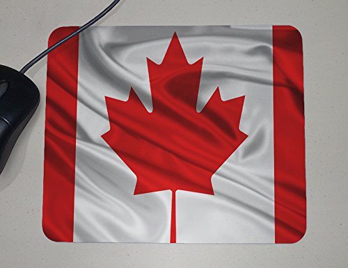 Flags - Canada - Ottawa - Country North America - Novelty Gift - Custom Name Mouse Pad