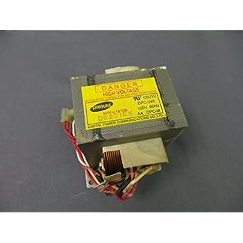 41IkAab4S5L._SL500_AC_SS350_ amazon com samsung de26 00126b high voltage transformer home  at gsmx.co
