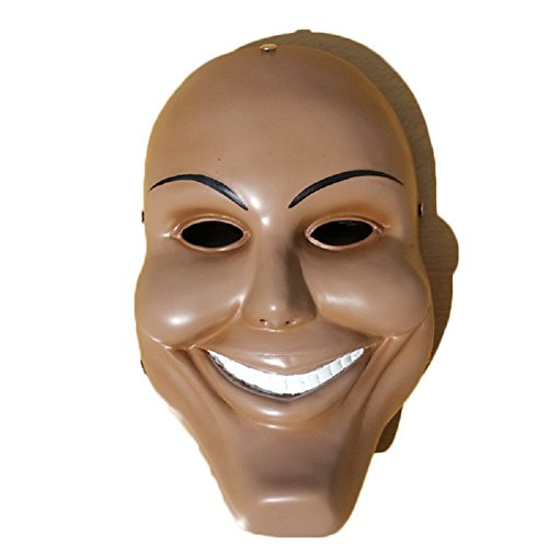 Smile Face Scary Mask The Purge Anarchy Movie Halloween Cosplay James Sandin Mask Halloween Props -