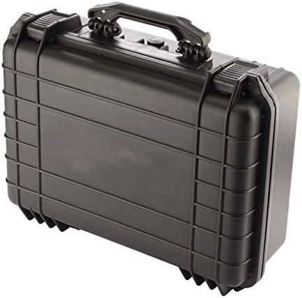 ツールオーガナイザー ツールボックスブラックブリーフケースツールボックスケース保護ツールの写真および試験装置および付属品のための携帯用ツールケース ポータブルツールボックス