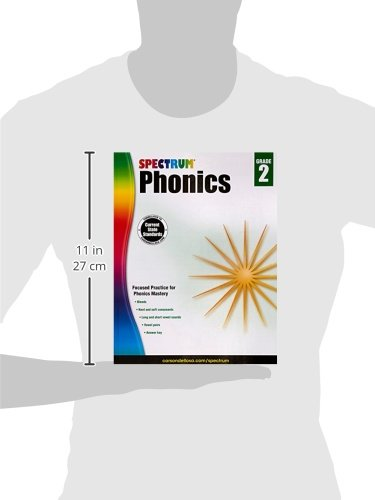Spectrum Phonics, Grade 2: Spectrum: 0044222239787: Amazon.com: Books