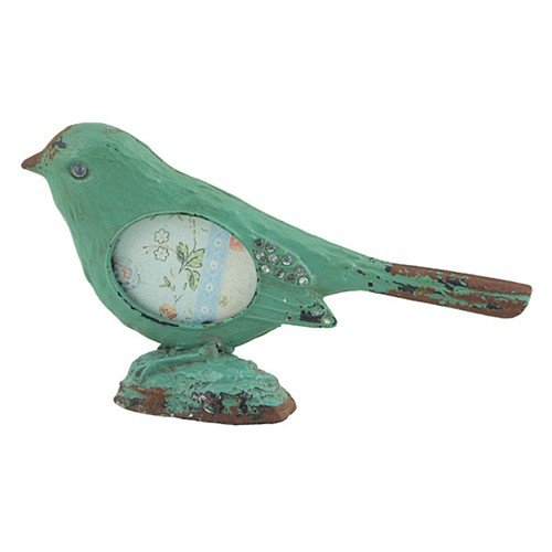 LITTLE BIRD PHOTO FRAME TURQUOISE -