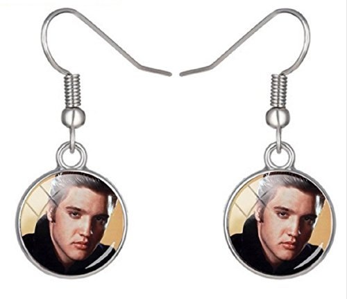 Sexy Sweet ELVIS PRESLEY Earrings are the Perfect Gift for a Forever ELVIS Fan. Approximately the Size of a (Elvis Gift Bag)