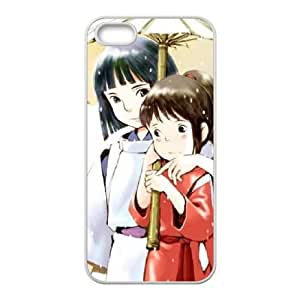 Spirited Away iPhone 5 5s Cell Phone Case-White MSU7220114