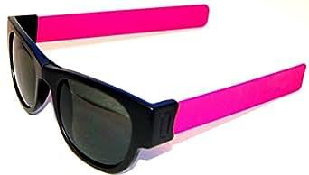 Slapsee Folding Sunglasses Pink