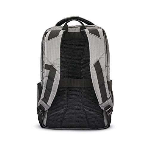 41IkDYmHp5L - Samsonite Tectonic Lifestyle Easy Rider Business Backpack, Steel Grey, One Size