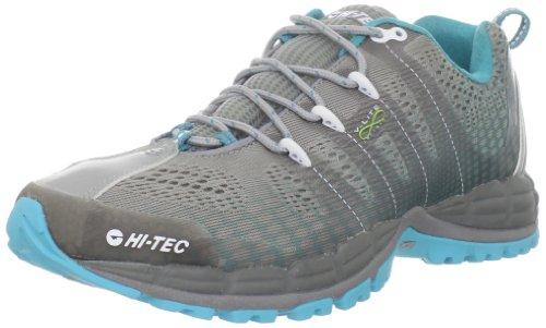 Hi-Tec Women's V-lite Infinity HPi Running Shoe,Grey/Scuba,9 M US