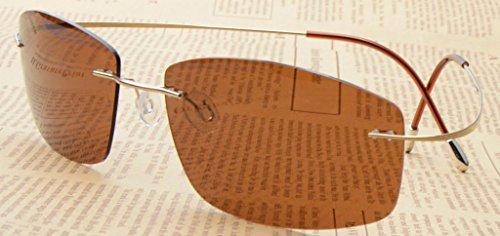 Marron Lunettes Protection en Titane Soleil 400 Eyekepper Gamme Polarisees Or S1504 de UV Haut de gqx6dIwFC