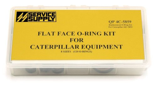 Q-Pac 4C-5859 Caterpillar® Flat Face O-Ring Kit - 4c Kit