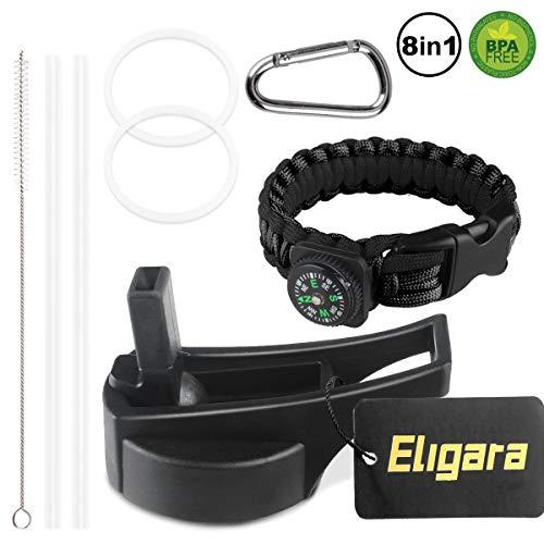 Eligara Straw Lids Klean Kanteen Buzio Hydro Cell Smart Iron