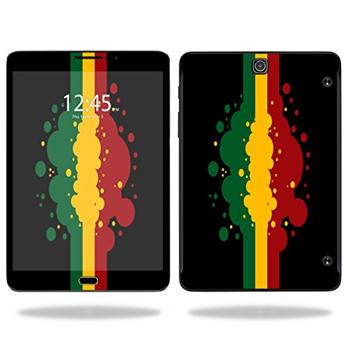 UPC 757572756032, MightySkins Protective Vinyl Skin Decal for Samsung Galaxy Tab S2 9.7 T810/T815 screen wrap cover sticker skins Rasta Flag