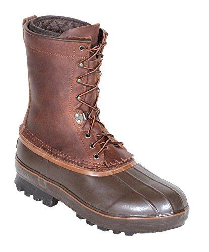 "Kenetrek Unisex 10"" Northern Insulated Boot,Brown,9 M US"
