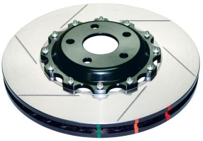 DBA (52323.1S) 5000 Series Slotted Replacement Disc Brake Rotor, Rear ()