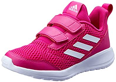 adidas Australia Girls Altarun CF Trainers, Real Magenta/Footwear White/Real Magenta, 1 US
