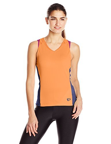 Pearl Izumi - Ride Women's Launch Sleeveless Jersey Clementine X-Large [並行輸入品]   B06XFPQFSX