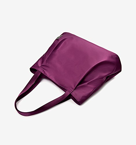 ZIIPOR Tote Handbag Bag Women's Shopping Weekend Black Hobo Waterproof Leisure FUwFCYxqr