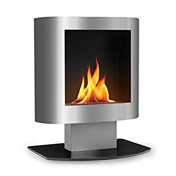 Shop oneConcept Phantasma Tower Ethanol Fireplace • Safety Burner • Extinguishing Aid • Smokeless • Soot-Free • Stainless Steel • Elegant • Flexible • 600ml Volume • Up to 4 Hours of Burn Time • Stable Stance • Easy Operation • Silver. Free delivery on eligible orders of ?20 or more.