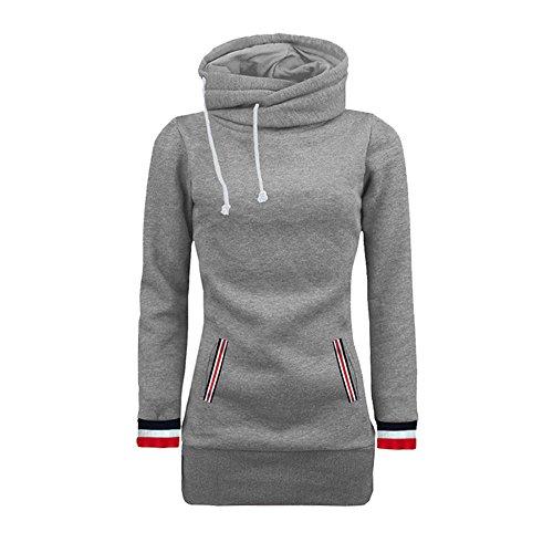- clearance sale!!ZEFOTIM Women Long Sleeve Blouse Sweater Sweatshirt Pullovers Tops(Medium,Grey)