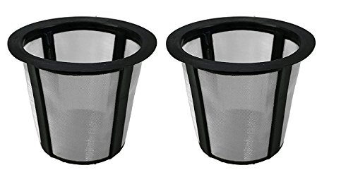 2-Pack Reusable K-Cup Filter Basket for Keurig My ()