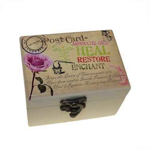 Wisdom Aromatherapy (Organic Essential Oil Boxed Aromatherapy Kit (6 Bottles) by Ancient Wisdom)