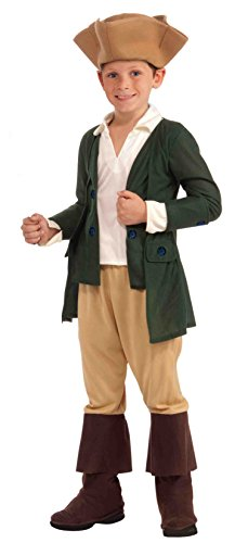 [Forum Novelties Paul Revere Costume, Child Small] (Colonial America Costumes Revolution)