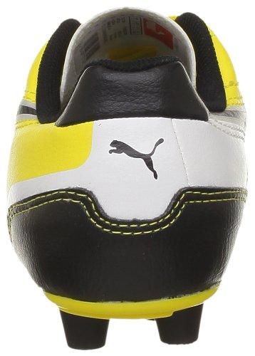 Puma Universal Black garçon Fg Jaune White Jr Baskets mode 01yellow rrFqdA