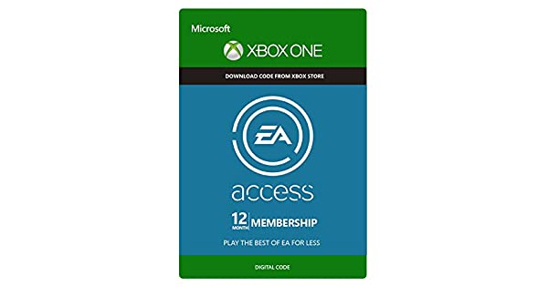 Amazon.com: EA Access 12 Month Subscription - Xbox One [Digital ...