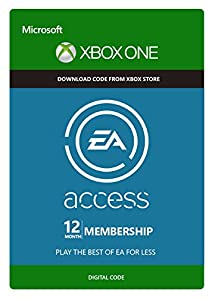 EA Access 12 Month Subscription - Xbox One Digital Code