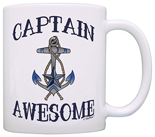 Captain Awesome Nautical Sailing ThisWear