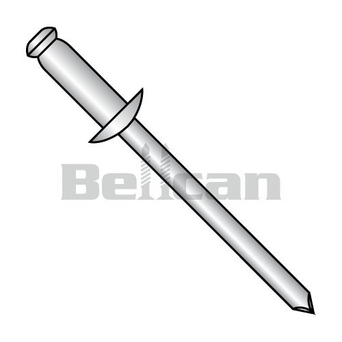 Bellcan BC-SDS43 Steel Rivet With Steel Mandrel 1/8 X .12-.18 (Box of 10000) ()
