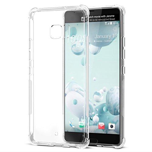 HTC U Ultra Case, SPARIN [2 Pack] Soft TPU Case...