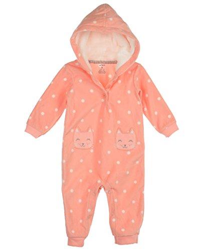 F14 1pc Girl MF Pink Dot Kitty Pockets 9 Months