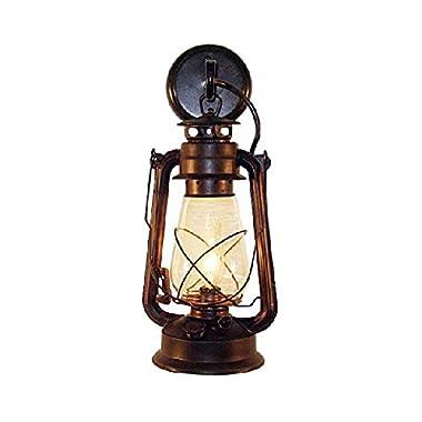 Rustic lantern wall mounted light - Large Rustic