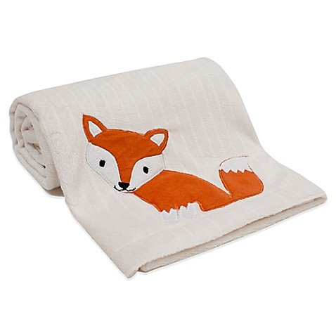 orest Animals Unisex Baby Crib Blanket by Lambs & Ivy ()