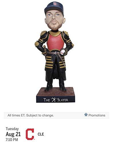 (Chris Sale Bobblehead Boston Red Sox K Slayer Game Thrones Bobble 8/21/2018)