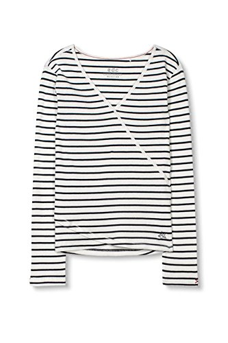 edc by Esprit, Camisa para Mujer Blanco (Off White)