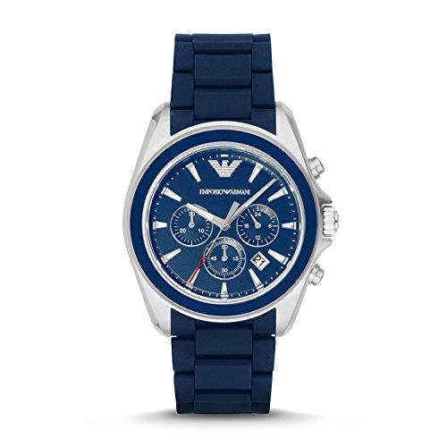 Emporio-Armani-Mens-AR6068-Sport-Silver-Silicone-Watch