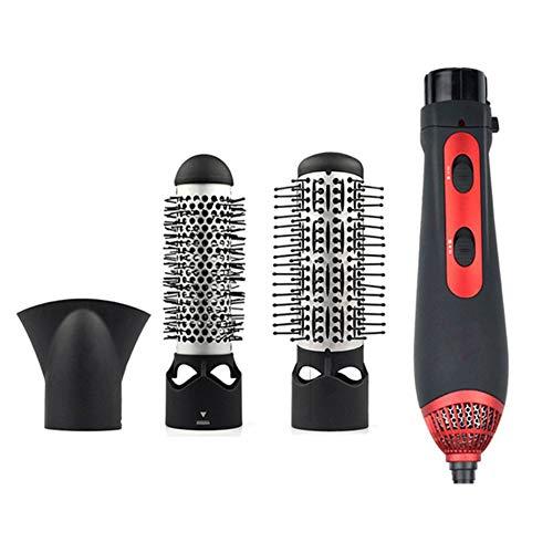 Hair Style 3 en 1 enderezador de Pelo rizador secador Conjunto con 3 barriles Intercambiables de cerámica turmalina...