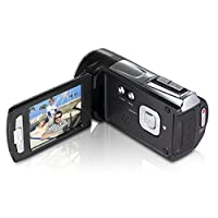 "Digital Video Camera Heegomn FHD 1080P Camera Camcorders 2.7"" LCD 12MP Video Recorder with Wide Angle Lens, Black by Heegomn"