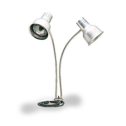 Carlisle Aluminum 24 inch Dual Arm Flexiglow Heat Lamp