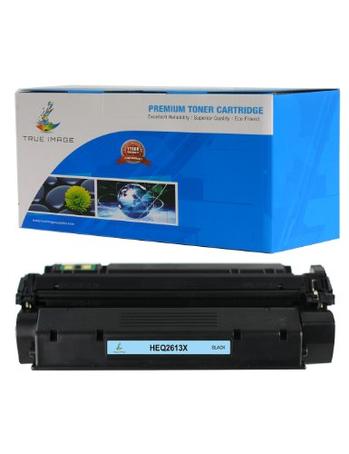 (TRUE IMAGE HEQ2613X Compatible Toner Cartridge Replacement for HP Q2613X (Black))
