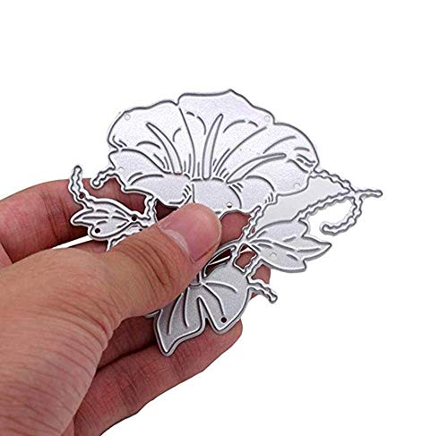 Zittop Morning Glory Cutting Dies Stencil Album Scrapbooking Cards DIY Embossing Tool by Zittop (Image #1)