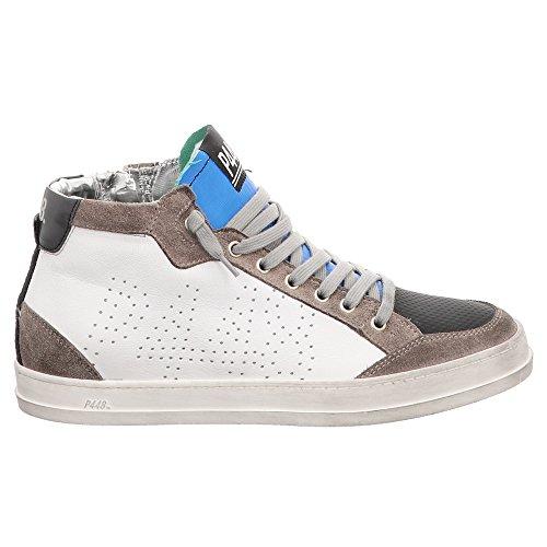 P448 Amore | Sneaker High-top | Formatori - Bianco | Bianco Grigio