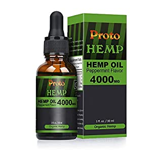 Hemp Natural oil, 40%-30ml High Strength,Pure and Natural
