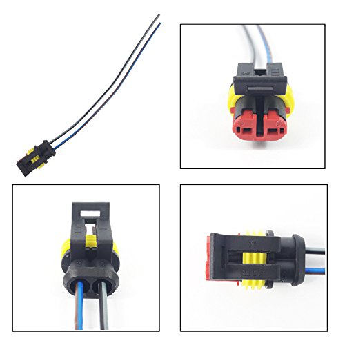 FOG LIGHT EXTENSION WIRING HARNESS LOOM (FEMALE, 2 PIN):