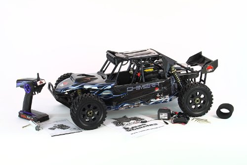 Redcat Racing Rampage Chimera SR Sand Rail Vehicle, Black/Blue, 1/5 - Buggy Gas Scale 1/5