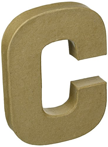 Darice 2862C Paper Mache Letter 8Inx55In One Size Natural