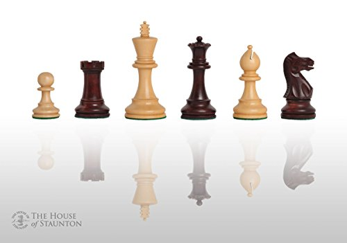 - The House of Staunton The Grandmaster Chess Set - Pieces Only - 4.0