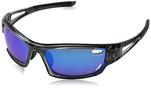 Tifosi Dolomite 2.0 Lenses - Tifosi Dolomite 2.0 Polarized Wrap, Crystal Smoke, 61 mm