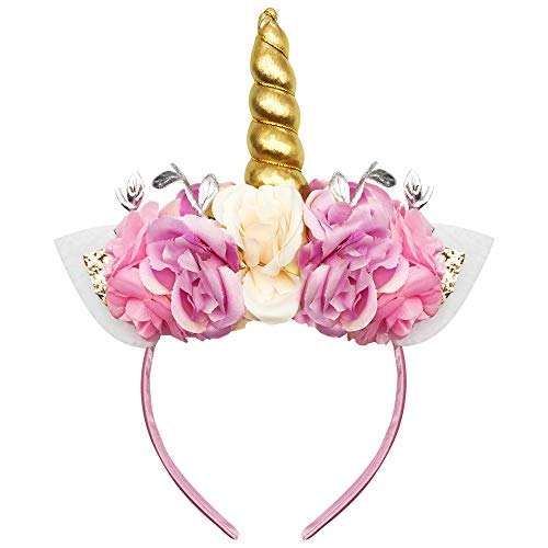 Unicorn Headband-Unicorn Party Supplies-Unicorn Headband for -